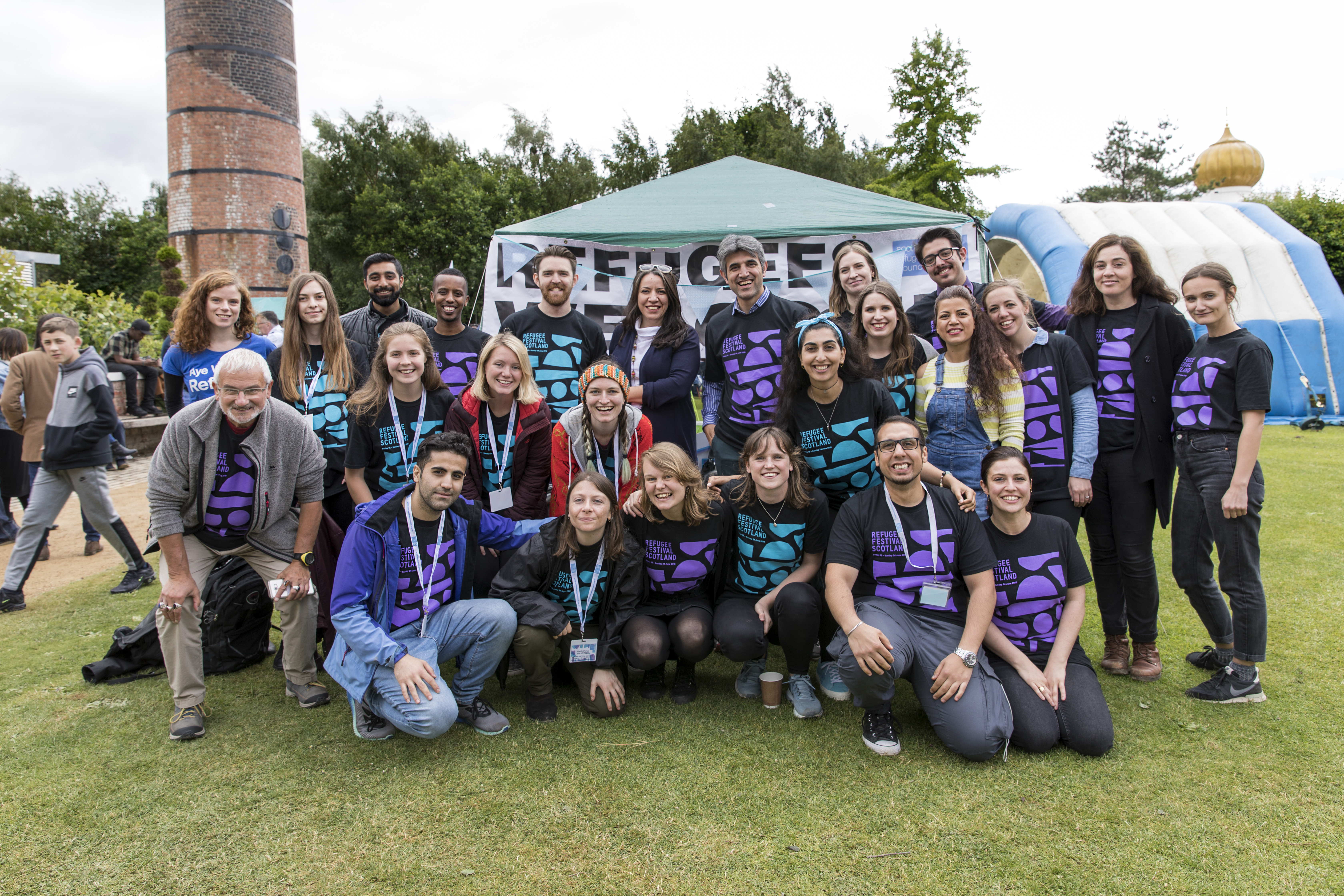 How can I help out at Refugee Festival Scotland 2019?