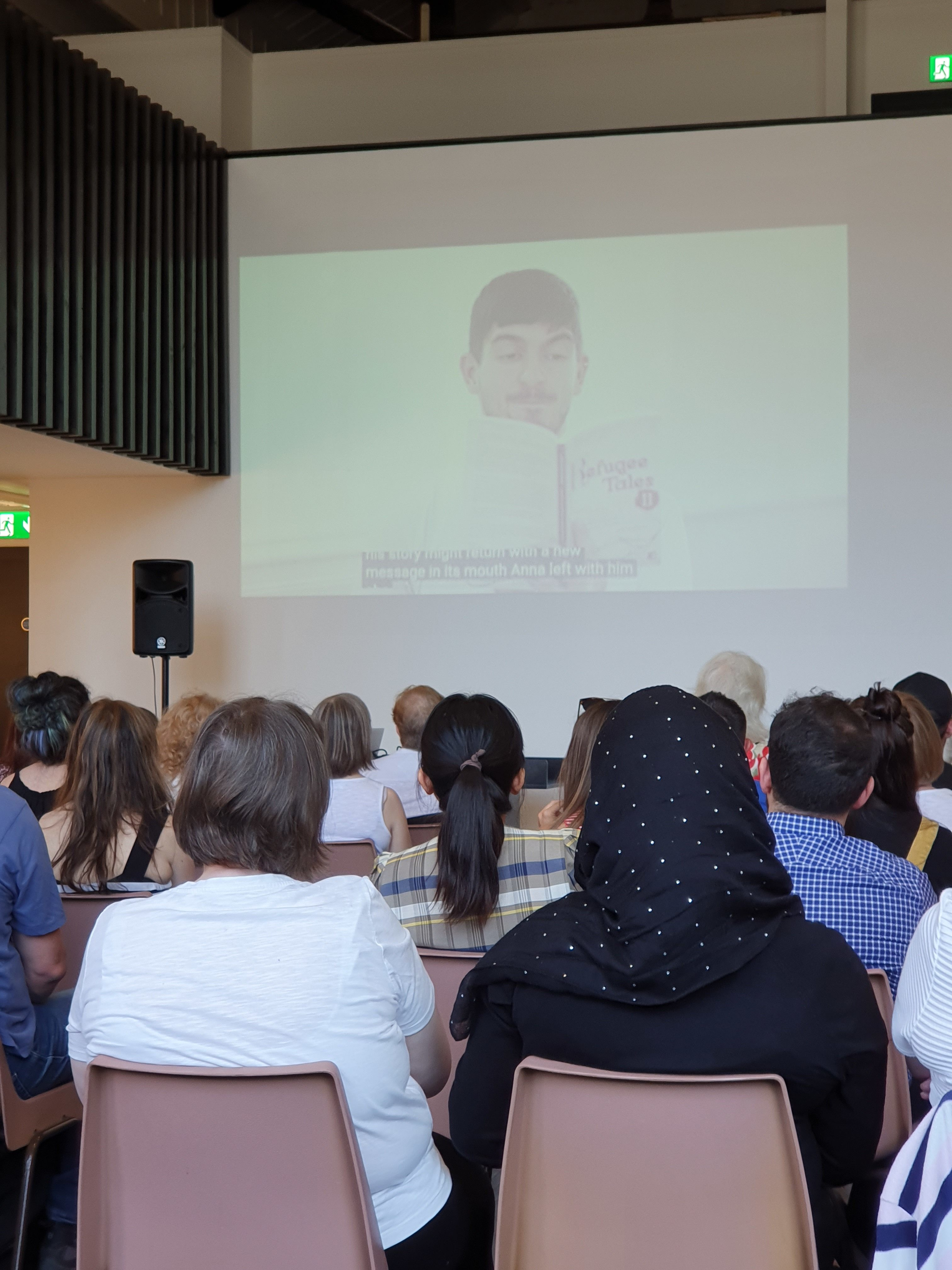 Refugee Tales at Glasgow Women's Library