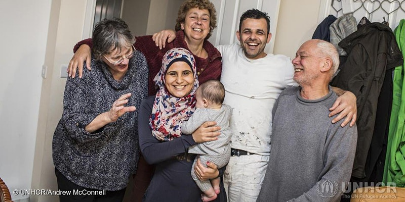 Bring a refugee family to safety in your local community