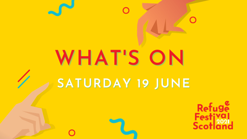 Festival line-up | Saturday 19 June