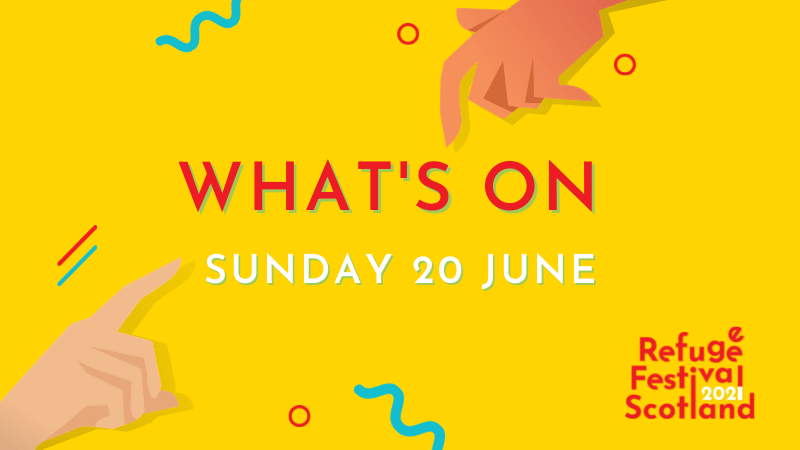 Festival line-up | Sunday 20 June