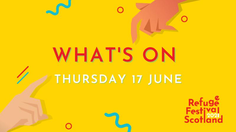 Festival line-up | Thursday 17 June 2021