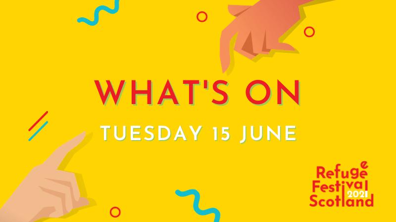 Festival line-up | Tuesday 15 June