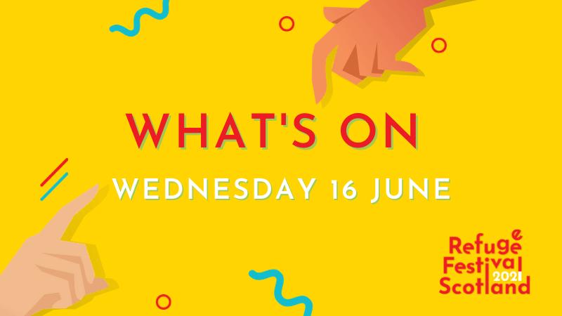 Festival line-up | Wednesday 16 June